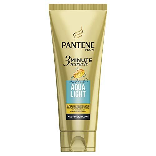 Pantene 3 Minute Miracle Aqualight, Para Pelo Graso - 200ml