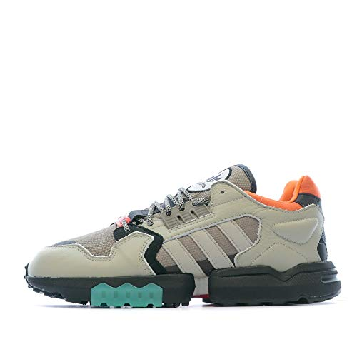 Adidas ORIGINALS ZX Torsion, Sesame-core Black-Simple Brown, 8