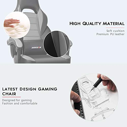 BOSSIN Racing Style Gaming Chair...