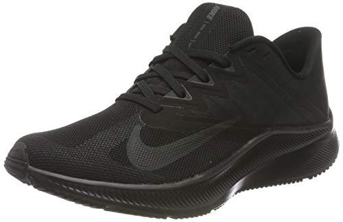 Nike Wmns Quest 3, Scarpe da Corsa Donna, Black Dk Smoke Grey, 38 EU