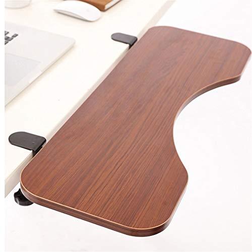 YWCXMY-LDL Einstellbare Tastaturablage Tischmontage Untertisch Plattform Fach Ergonomische Tastatur Handgelenkauflage Schreibtisch Extra Large Größe Einfache Clamp (Color : A01)
