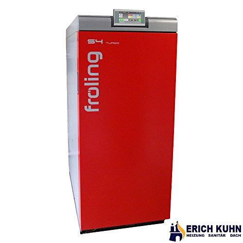 fröling Scheitholzkessel S4 Turbo 28 kW Holzvergaser mit Touch Display