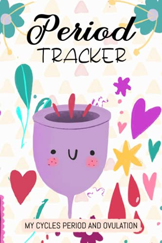 MY CYCLES PERIOD AND OVULATION: PERIOD TRACKER: My Prickly Days Period Journal Menstrual Cycle Tracker for Young Girls and Teens to Monitor PMS ... Level by Ovulation Calander or IVF Calendar
