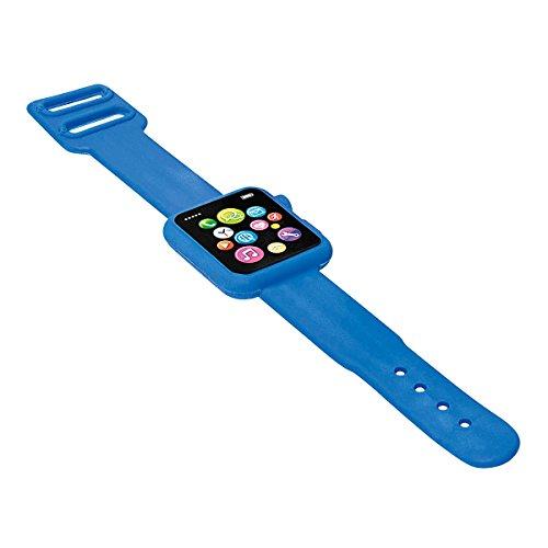Wedo 599309903 Radiergummi Smartwatch 19,5 x 3 x 0,8 cm, Kunststoff, blau