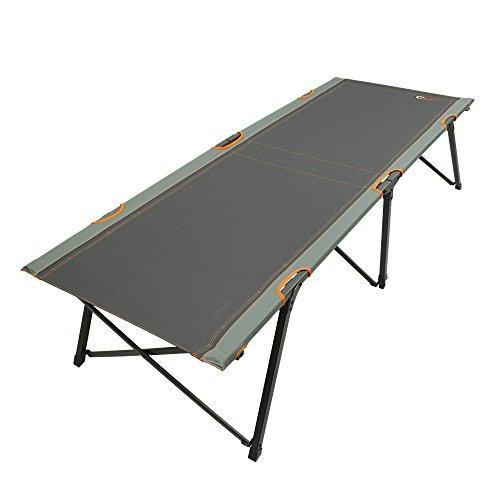 Portal POR2947-4260182766965 Cama de Camping, Unisex Adulto, Gris Naranja, Extra-Large