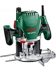 Bosch överfräs POF 1400 ACE (3 x spännhylsor, fräs, parallellanslag, sugadapter, väska (1400 W))