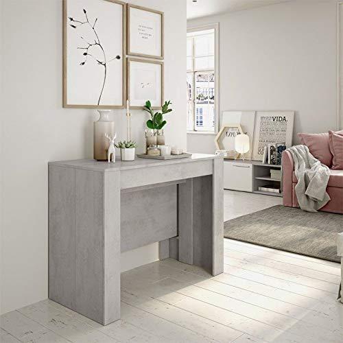 Habitdesign 004580L - Mesa de Comedor Consola, Mesa Extensible, Mesa para Salon...