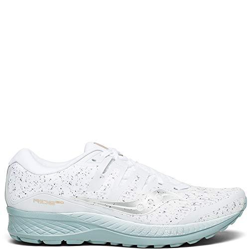 Saucony Ride ISO, Zapatillas de Running para Hombre, Blanco (White 40), 45 EU