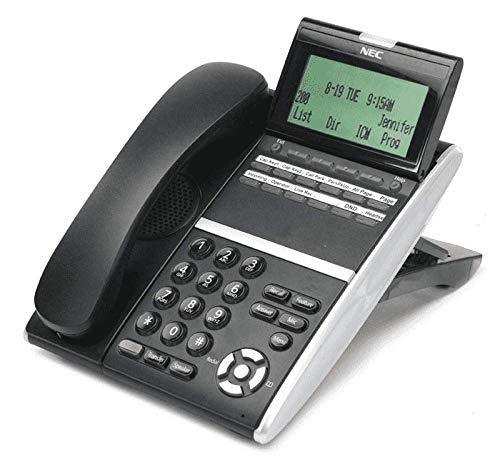 NEC 650002-27079 - NEC DTZ-12D-3 DT400 12-Button Display Phone Black (650002) (Renewed)