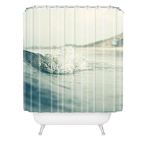Deny Designs Bree Madden Ocean Wave Duschvorhang, 175,3 x 182,9 cm