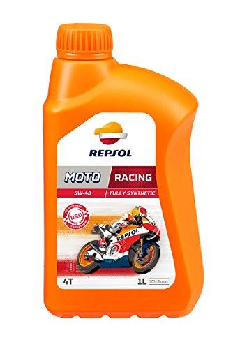 Repsol RP160L51 Moto Racing 4T 5W-40 Aceite de Motor, 1 L