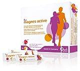 Denk magnes active - Hochdosierte Magnesium Sticks zur täglichen Versorgung (300mg) - 30 Stück