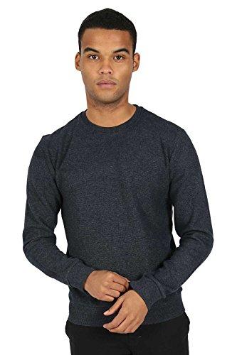 JUNQ COUTURE® ANUBIS Sweat de base avec le logo caoutchouté sur le sweat-shirt de base arrière pour les hommes