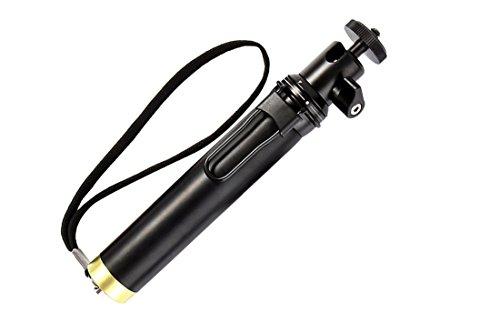 Selfie Stick con estirable monopié para ojo de halcón Firefly 8S, Yi 4K, Yi 4K+ ThiEye t5e deportes cámaras de acción (Bluetooth controlador se vende por separado)