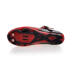 SIDEBIKE Zapatillas de Ciclismo para Adultos, Zapatillas de Bicicleta de Montaña Resistente al Viento Transpirable con Plantilla de Amortiguación (40, Blanco)