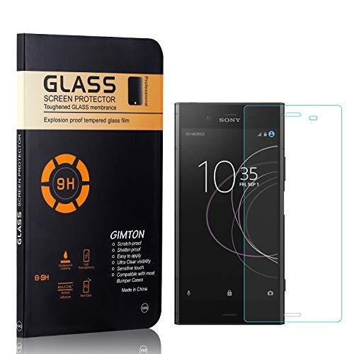 GIMTON Displayschutzfolie für Sony Xperia Z4 Compact, 9H Härte, Blasenfrei, Anti Öl, Ultra Dünn Kratzfest Schutzfolie aus Gehärtetem Glas für Sony Xperia Z4 Compact, 2 Stück