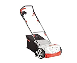 AL-KO Electric Scarifier Basic Care 32.5 VE Classic (32 cm working width, 1000 Watt motor power, for surfaces up to 400 m², working depth 5-fold, centrally adjustable, incl.