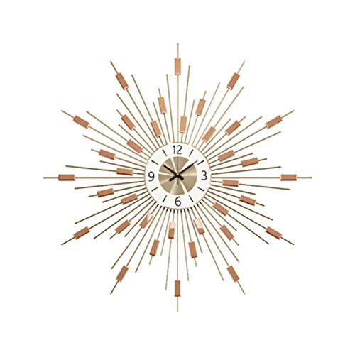 qwertyuio Reloj De Pared Reloj De Pared Starburst Decorativo Grande, Esfera Digital...