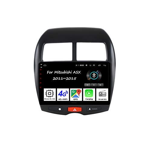 Android Autoradio Doppel Din Radio 9 Zoll Multimedia Autoradio Mit Navi Für Mitsubishi ASX 2011-2015 4 Cores 2G+32G Auto Zubehör Einfügen Und Verwenden Autoradio Freisprecheinrichtung RDS
