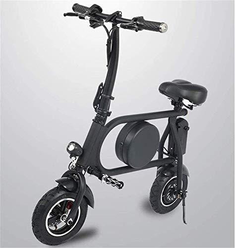 Bicicletas Eléctricas, Bicicletas rápidas y Eléctrica en Adultos Asiento Plegable E-Scooter con Motor de 500W Impermeable Doble absorción de Choque 45 km de Largo Alcance Velocidad máxima 45 km/H bi