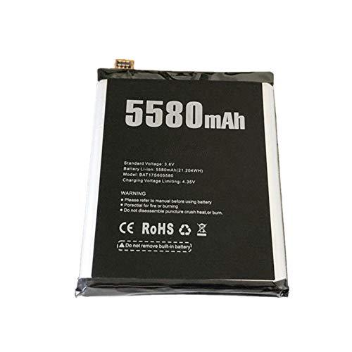 WXKJSHOP DOOGEE S60 - Batería de repuesto (5580 mAh, compatible con DOOGEE S60 Lite BAT17S605580, 3,8 V)