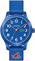 Lacoste Unisex-Child Quartz Watch, Analog Display and Silicone Strap 2030014