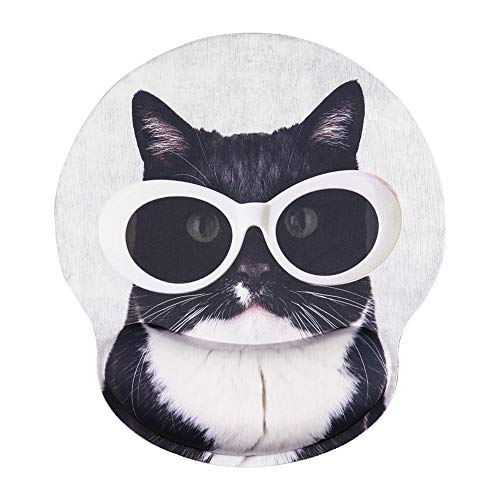 AOKSUNOVA Handgelenkauflage Mouse pad Ergonomische Mauspad Office Mauspad mauspad mit foto Anti-Sehnenscheidenprobleme Katze