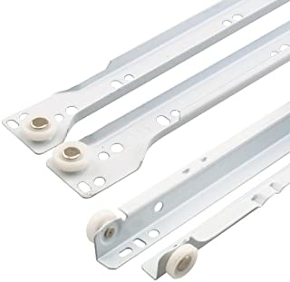 Prime-Line Products R 7213 Bottom Mount RV and Mobile Home Drawer Slides, White