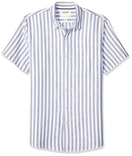 Marca Amazon – Goodthreads – Camisa de manga corta para