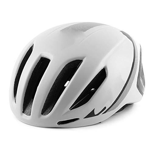 PIANYIHUO Casco de ciclistaCasco de Ciclismo Aero Ultraligero Neumático Casco de Bicicleta...