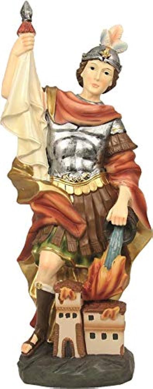 Dekop Heiligenfigur Hlg. Florian, Hhe ca. 73cm (444444635097436)