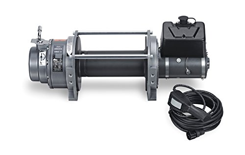 WARN 66032 Series 15 DC Electric 12V Winch, 7.5 Ton (15,000 lb) Pulling Capacity