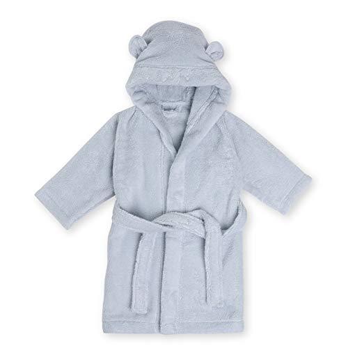 Natemia Albornoz con capucha para bebés y niños - Algodón turco orgánico ultra suave y absorbente con certificación GOTS - Bata de bebé