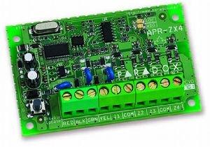 PARADOX ZX4 uitbreidingsmodule 4 bekabelde zones met aansluiting op Bus. Compatibel met DIGIPLEX EVO