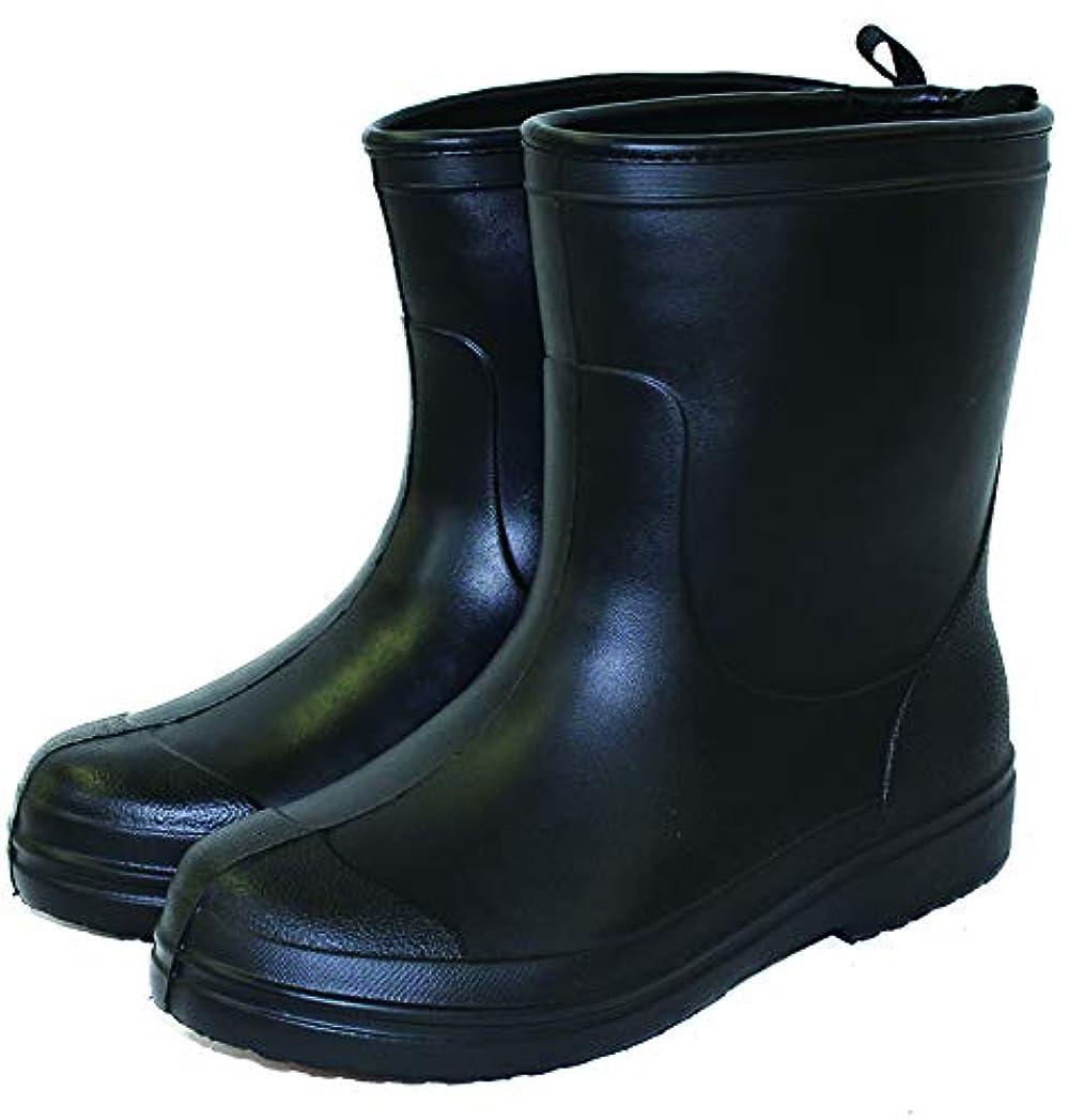 家火山学者ハグシンセイ(Shinsei) 作業長靴 FOOT WORK SS-0194 EVA素材でとにかくかる~い! ブラック