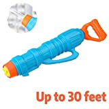 UNGLINGA Water Gun for Kids Adults Soaker Blaster Far Spray Large Capacity High Powered Shooter Squirt Toy Out Door Swimming Pool Beach Sand Water Fighting Toy