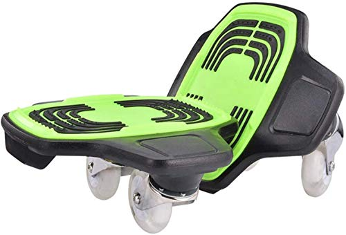 JBZP Drift Board Skates Adult Split Skateboard Anti-Rutsch-Reise Road Maple Brush Street Allrad-Flash Double Dragon Board, kann Nicht als Rollschuh verwendet Werden