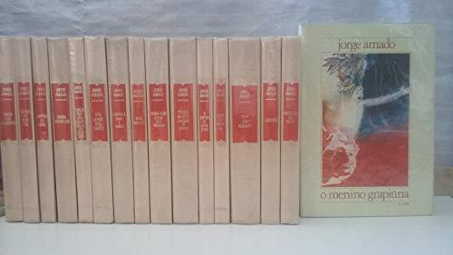 Coleção Jorge Amado 16 Volumes - Capa Dura