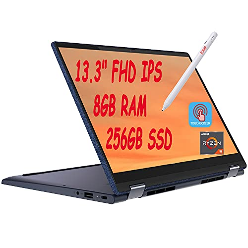 2021 Flagship Lenovo Yoga 6 2-in-1 Laptop Computer 13.3' FHD IPS Touchscreen AMD Hexa-Core Ryzen 5 4650U (Beats i7-10510U) 8GB RAM 256GB SSD USB-C Fingerprint Backlit WIFI6 Dolby Win10 + iCarp Pen