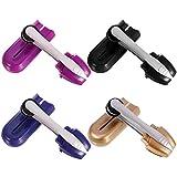 Paquete de 4 limpiadores de gafas Peeps, limpiador de lentes de carbono, apto para cualquier limpiador de lentes de gafas, tecnología de microfibra de carbono hasta 2000 veces de uso