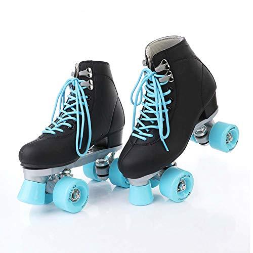 Classic Roller Rollerskates Rollschuhe Artistic Bequem Und Atmungsaktiv Quad Skates Für Mädchen, Jungen, Jugendliche,42