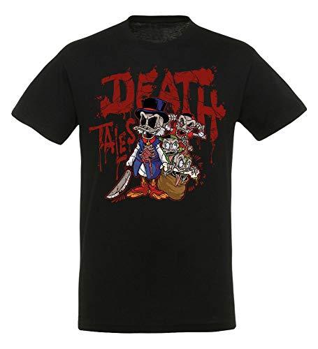 Duck Tales - Death Tales - T-shirt | Disney | Retro jaren '80 TV-serie