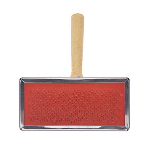 Kesheng Teppich Bürste Kamm mit Holzgriff medium