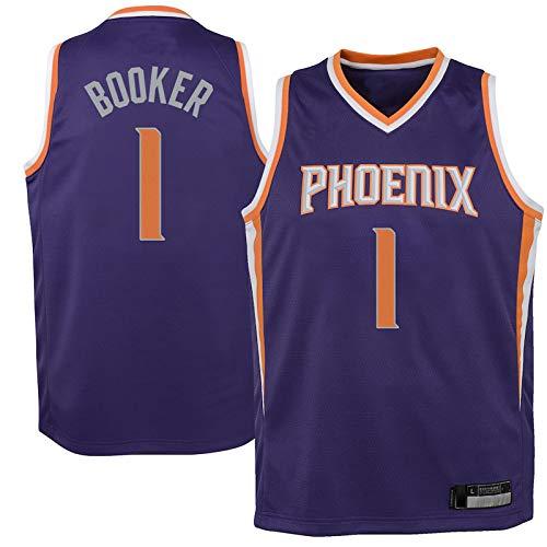 Camisetas de baloncesto personalizadas NO.1 morado, camiseta de swingman juvenil repetible, uniforme de limpieza, edición icono, el mejor regalo para niños