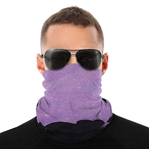 Purple Elephants Safety Face Cover Neck Gaiter Bandana Multi Headwear Face Scarf