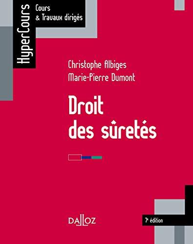 Droit des sûretés - 7e ed.