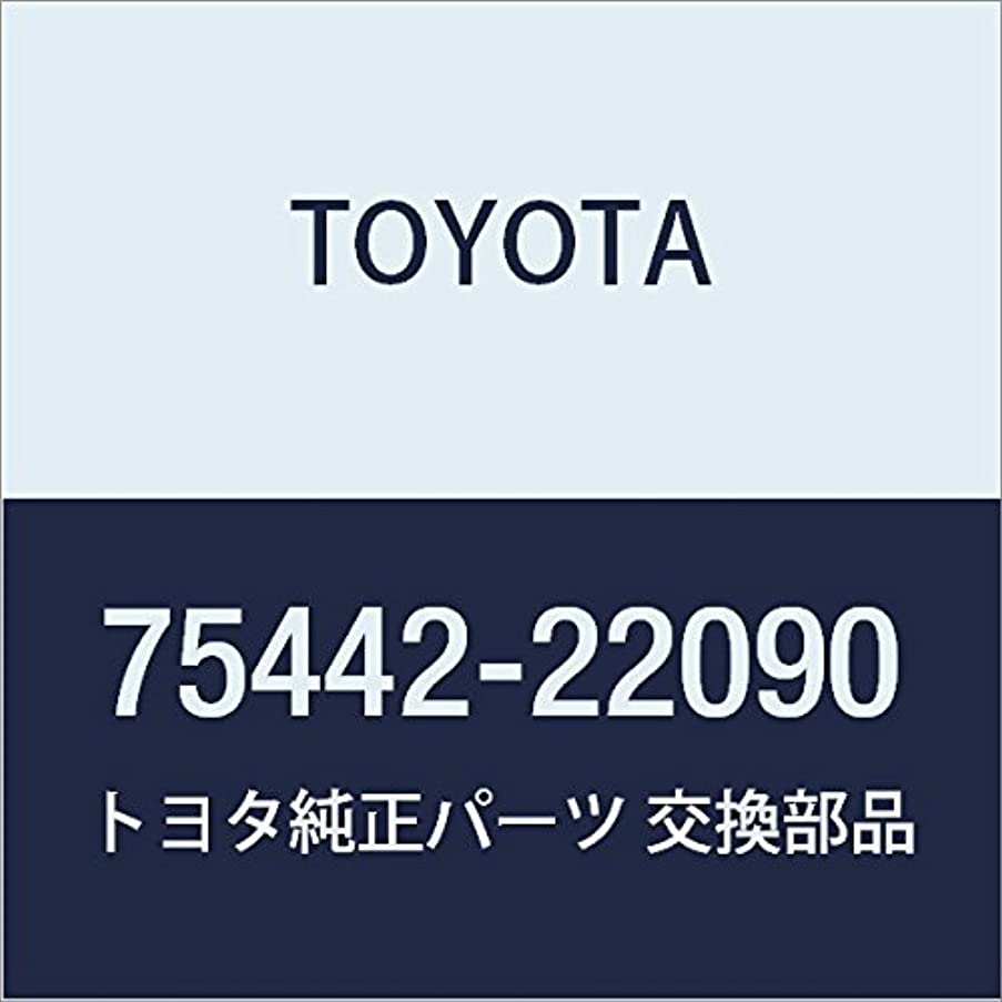 TOYOTA 75442-22090 Luggage Compartment Door Name Plate