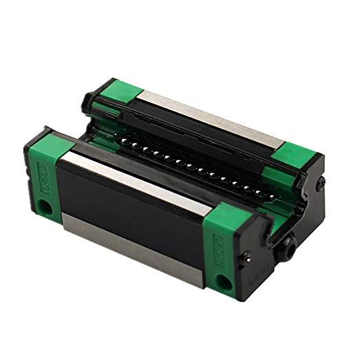 GooEquip Linearführung HGR20 1000mm Linearschiene mit 4PCS Gleitblock + 1PCS SFU1605 1000mm Kugelumlaufspindel mit Kugelmutter, BF12/BK12 Unterstützung, DSG16H, Kupplung für 3D Drucker CNC Maschine