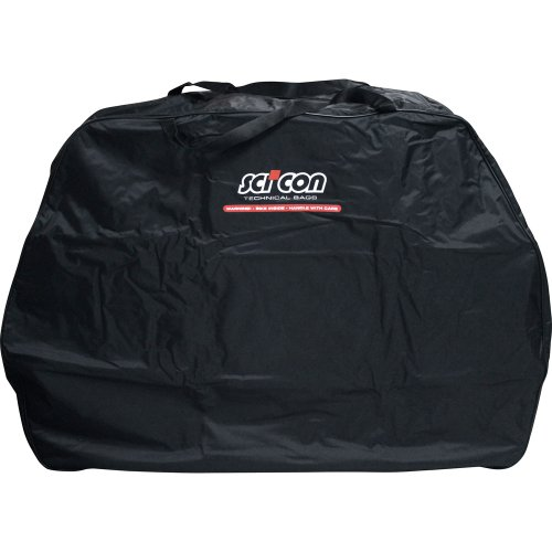 Scicon Travel Basic - Bolsa de ciclismo, color Negro, 130 x 25...