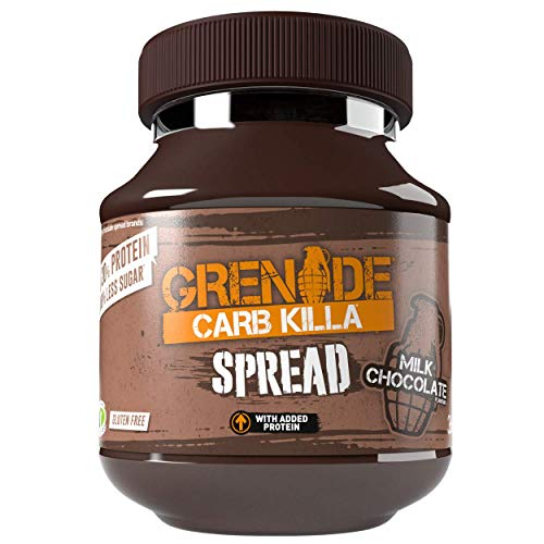 Grenade Carb Killa Protein Spread - Milk Chocolate, 1 x 360g Jar